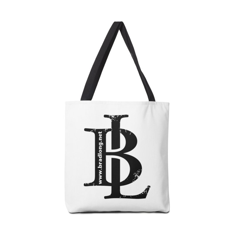 BL Logo(black) Accessories Bag by BradLong's Merch House