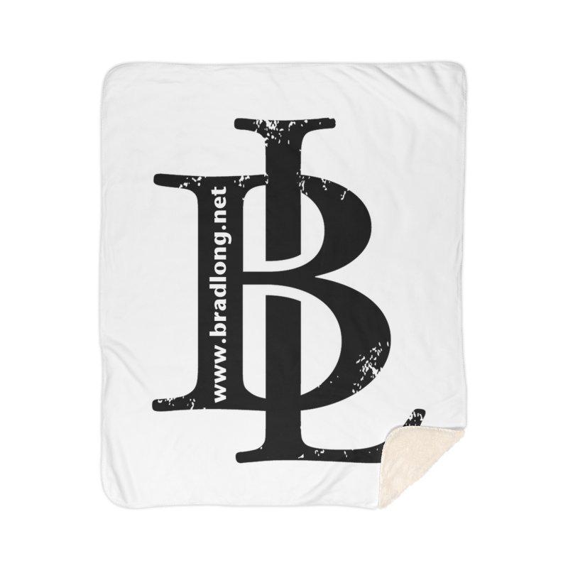 BL Logo(black) Home Blanket by BradLong's Merch House