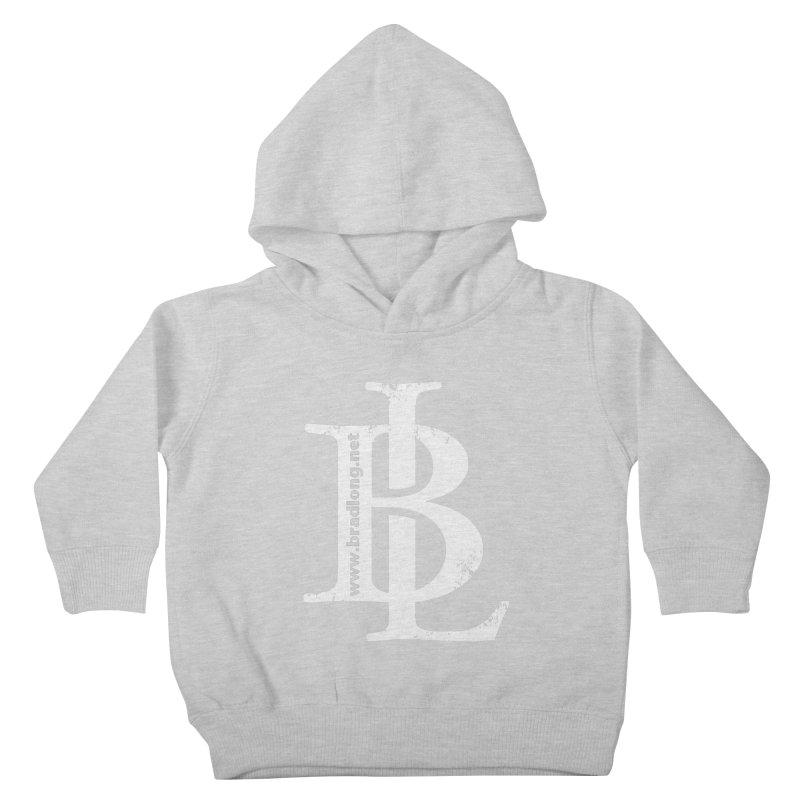 BL Logo(white) Kids Toddler Pullover Hoody by BradLong's Merch House
