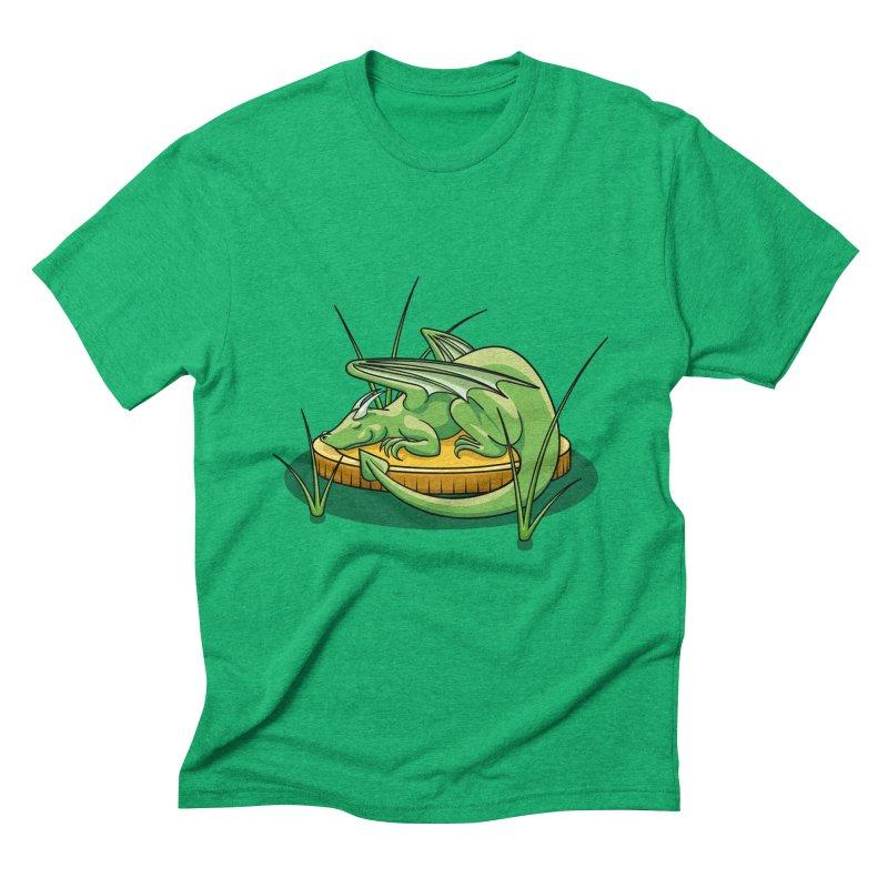 Draconis Minimis Men's Triblend T-Shirt by BrainMatter's Artist Shop
