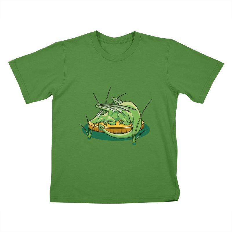 Draconis Minimis Kids T-Shirt by BrainMatter's Artist Shop