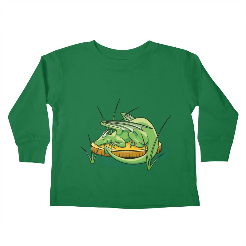 Draconis Minimis Kids Toddler Longsleeve T-Shirt by BrainMatter's Artist Shop