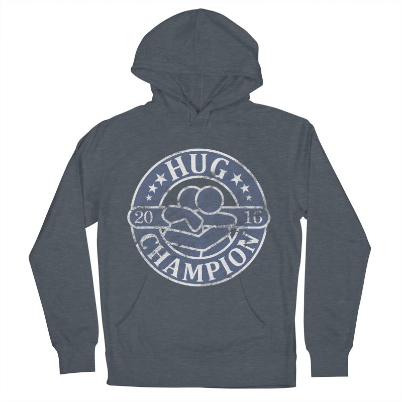 Hug Champion Men's Pullover Hoody by BrainMatter's Artist Shop
