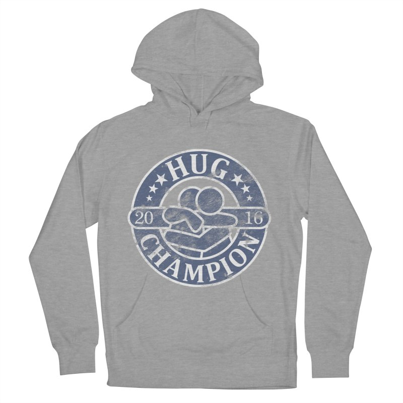 Hug Champion Men's Pullover Hoody by BrainMatter's Artist Shop