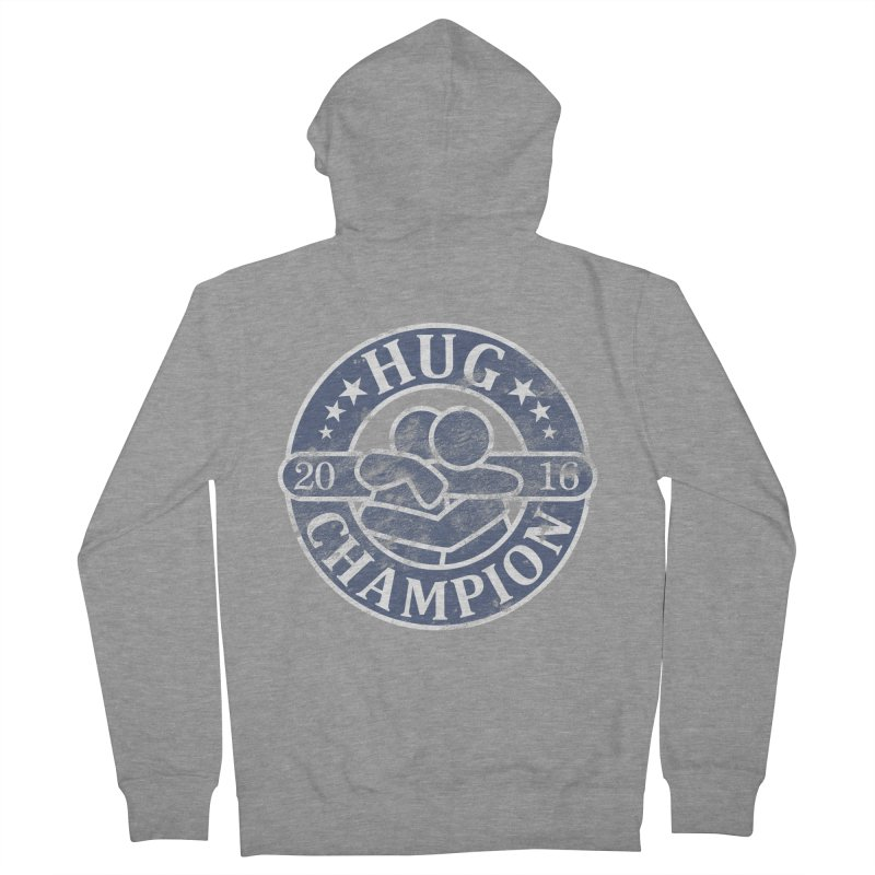 Hug Champion Women's French Terry Zip-Up Hoody by BrainMatter's Artist Shop