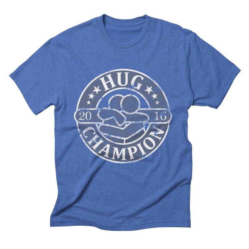 Hug Champion Men's Triblend T-Shirt by BrainMatter's Artist Shop