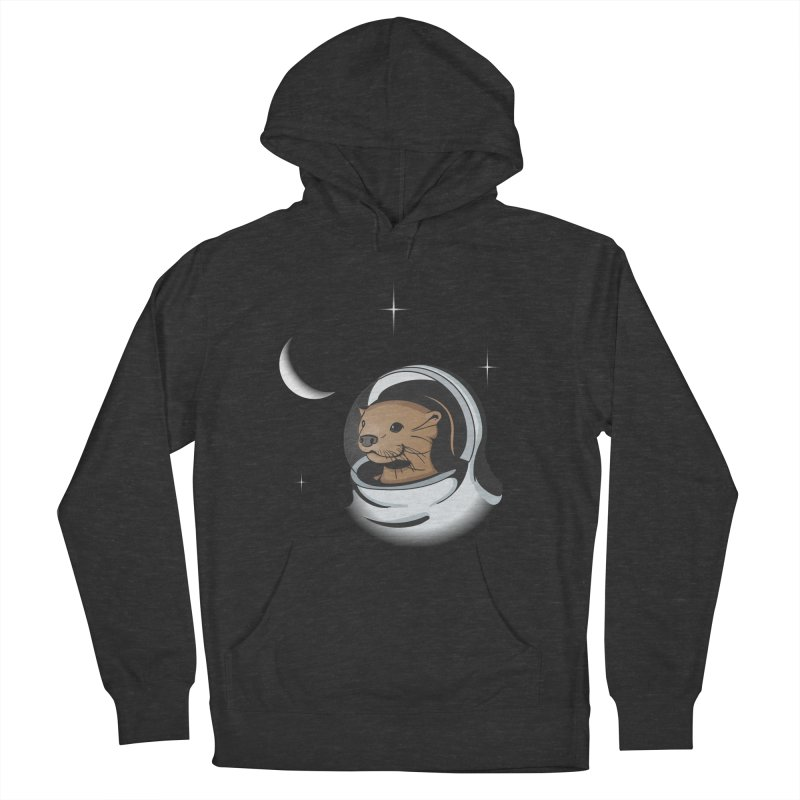 Otter Space Men's Pullover Hoody by BrainMatter's Artist Shop