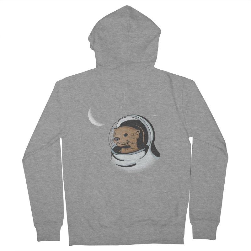 Otter Space Women's Zip-Up Hoody by BrainMatter's Artist Shop