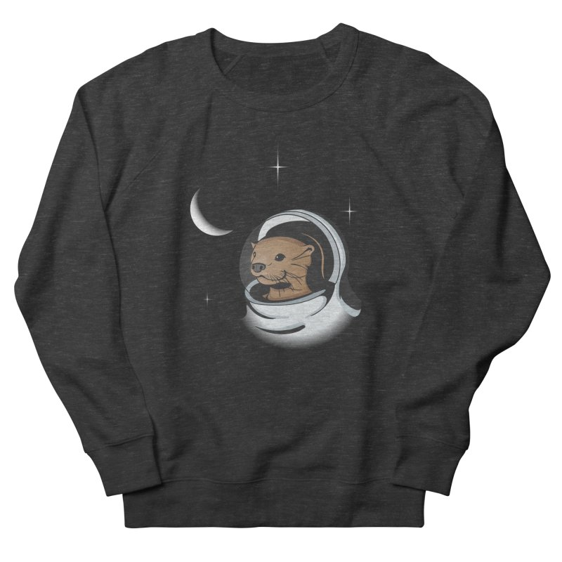 Otter Space Women's French Terry Sweatshirt by BrainMatter's Artist Shop