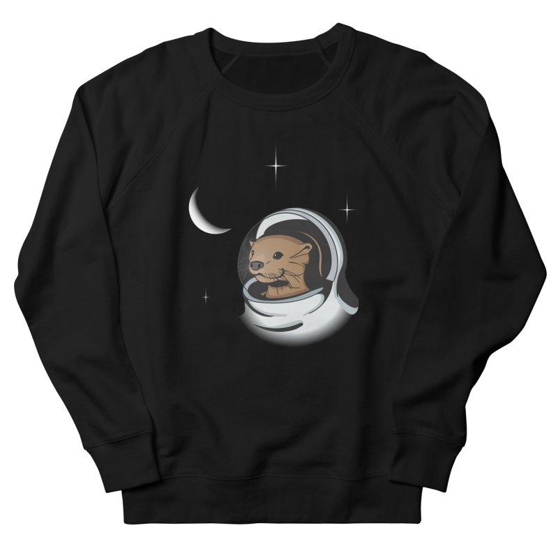 Otter Space Men's Sweatshirt by BrainMatter's Artist Shop