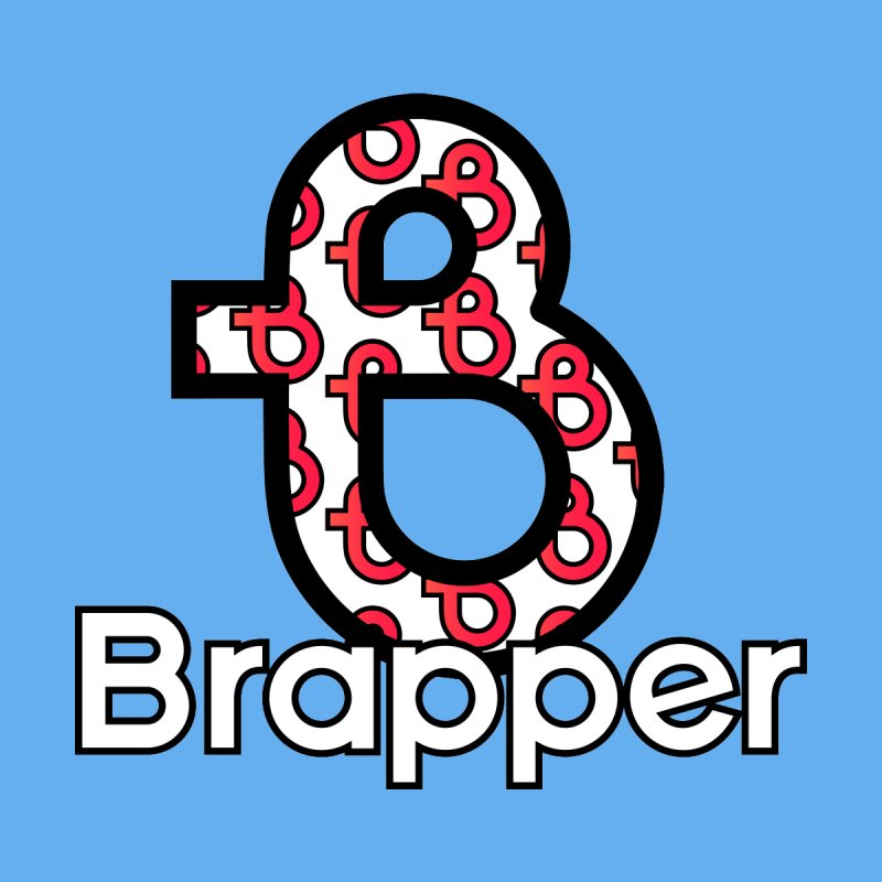 BOLD TILED BRAPPER by THE BRAPPSTORE