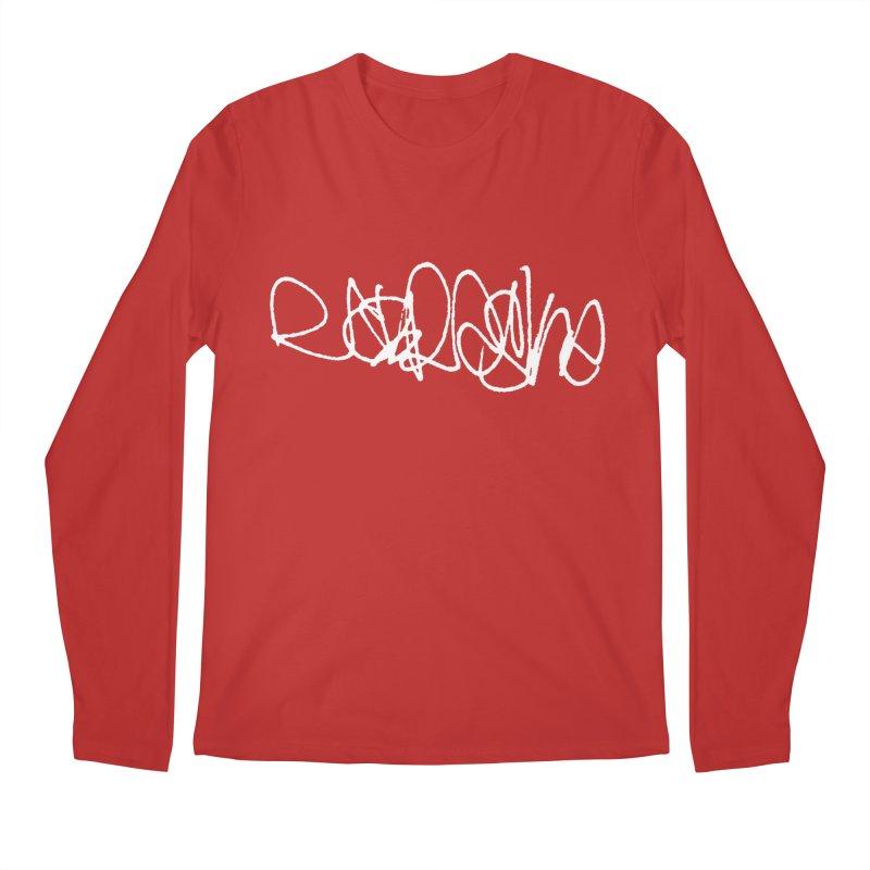 nebraska (graffiti font) Men's Longsleeve T-Shirt by Brick Alley Studio's Artist Shop