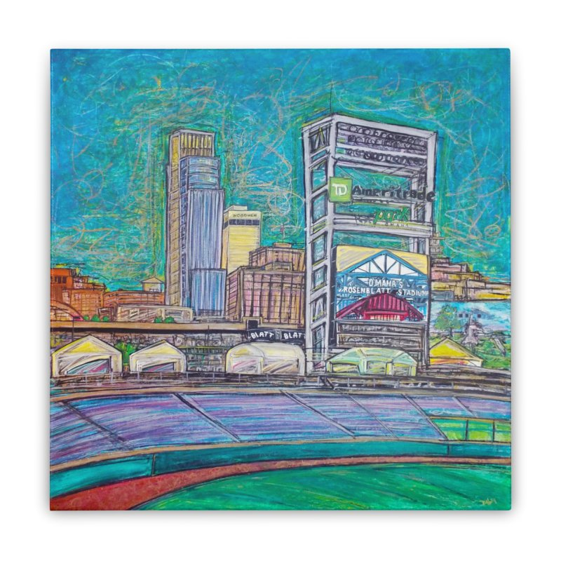 New Rosenblatt Home Stretched Canvas by Brick Alley Studio's Artist Shop