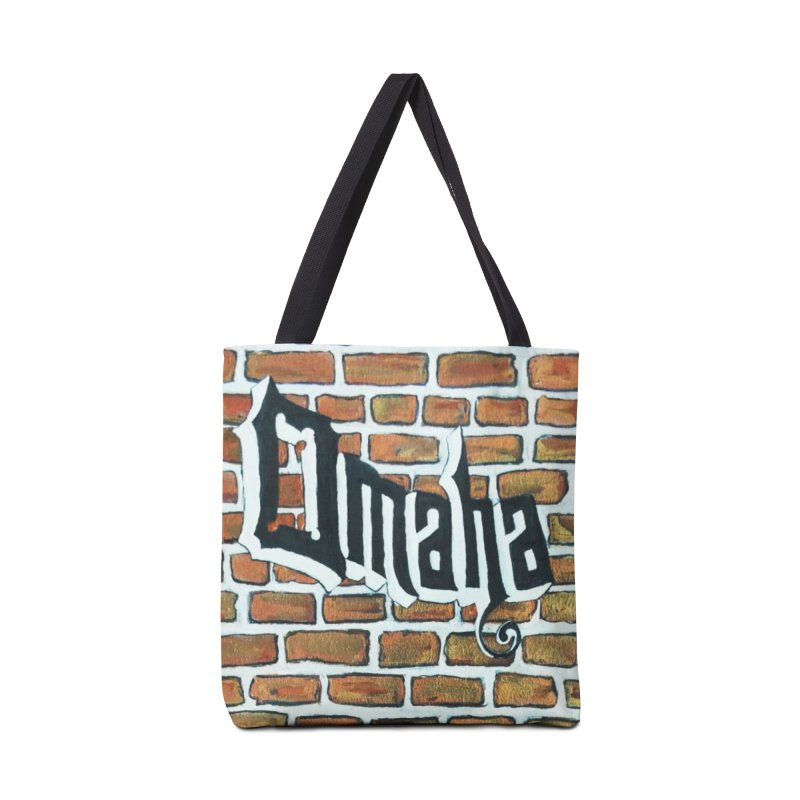 Brick Wall Omaha Oil Painting Accessories Bag by Brick Alley Studio's Artist Shop