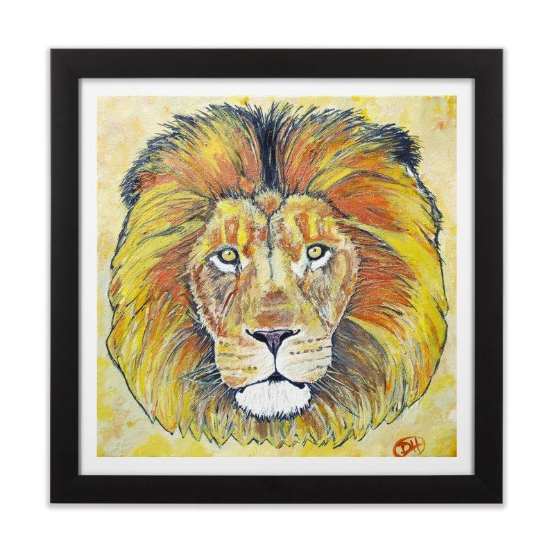 Lion Oil Painting   by Brick Alley Studio's Artist Shop