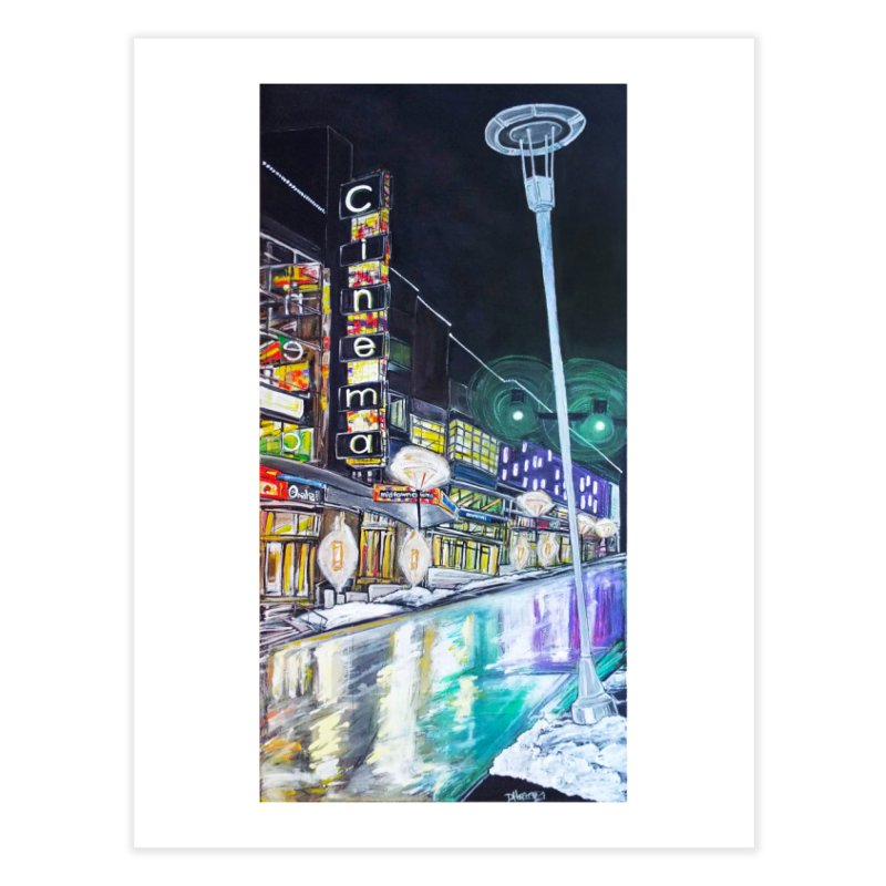 Farnam Reflecting Midtown Home Fine Art Print by Brick Alley Studio's Artist Shop