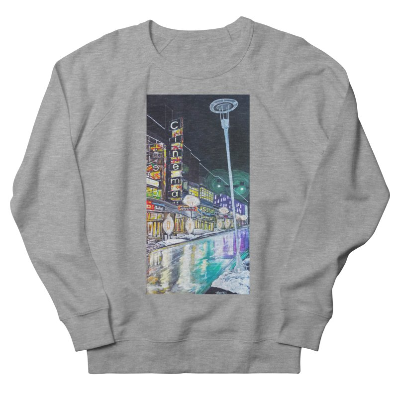 Farnam Reflecting Midtown Women's Sweatshirt by Brick Alley Studio's Artist Shop