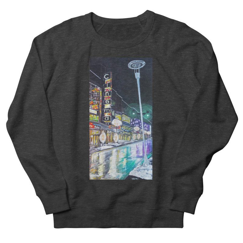 Farnam Reflecting Midtown Men's Sweatshirt by Brick Alley Studio's Artist Shop