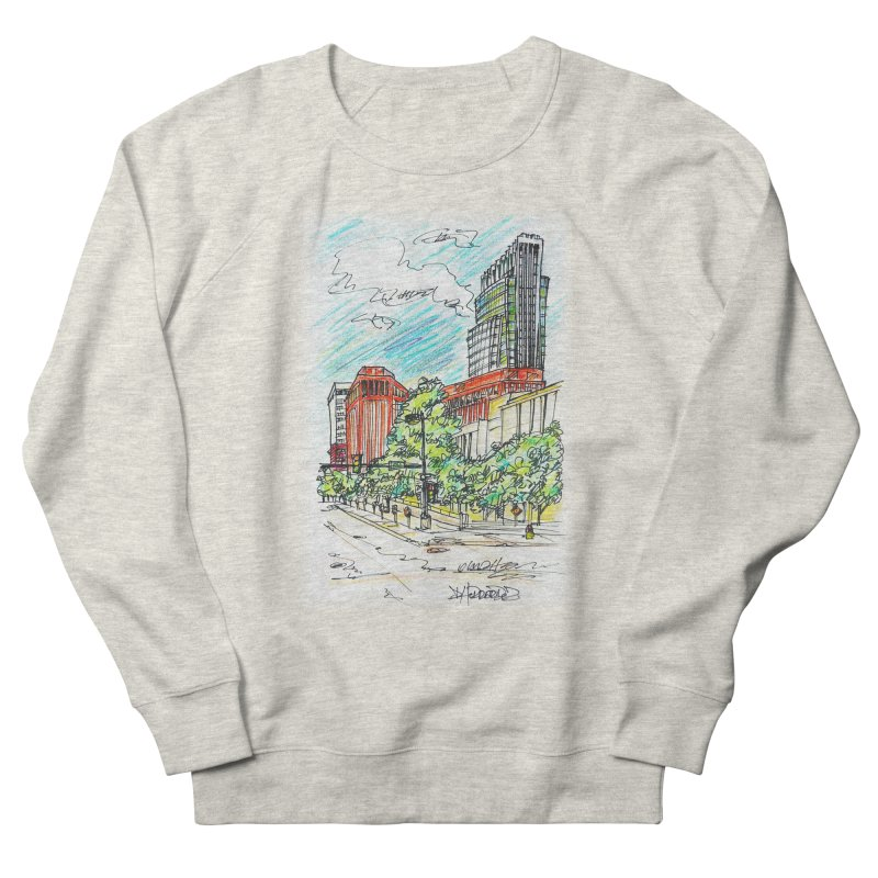 14th and Farnam Men's Sweatshirt by Brick Alley Studio's Artist Shop