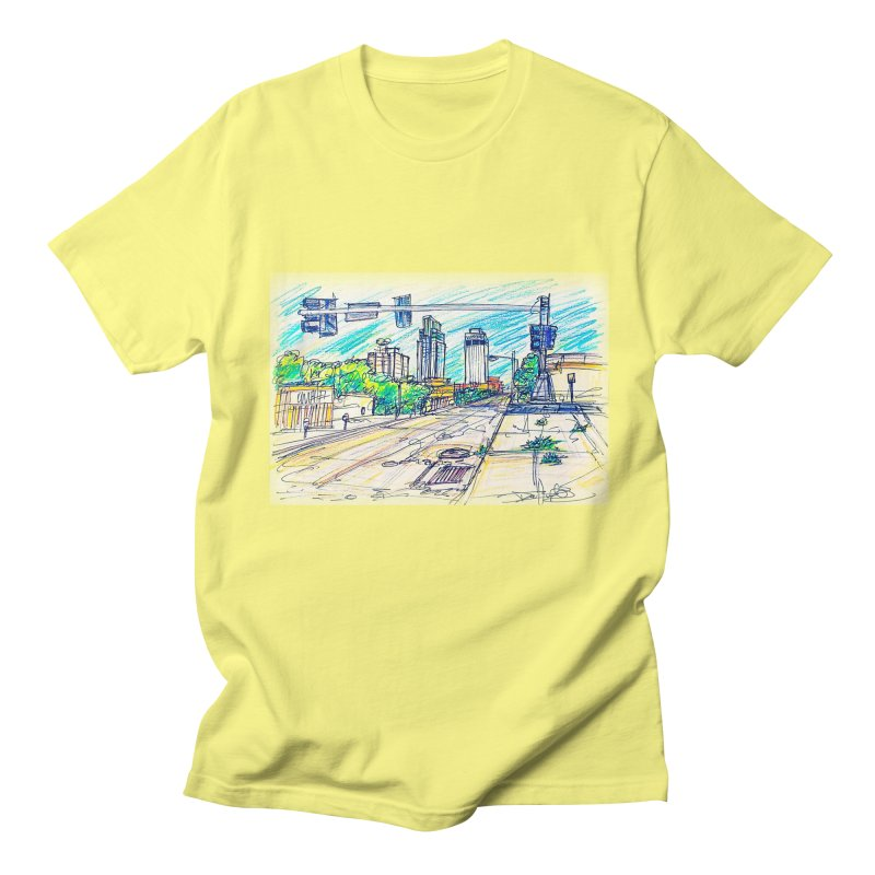 25th and Farnam Men's T-shirt by Brick Alley Studio's Artist Shop