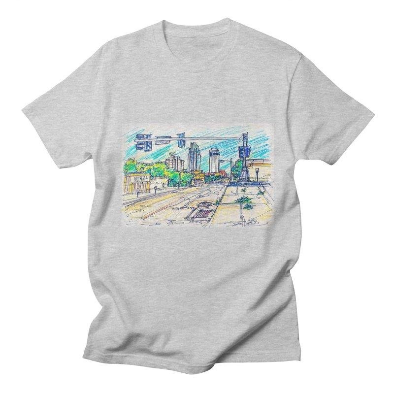 25th and Farnam Men's T-shirt by Brick Alley Studio's Artist Shop