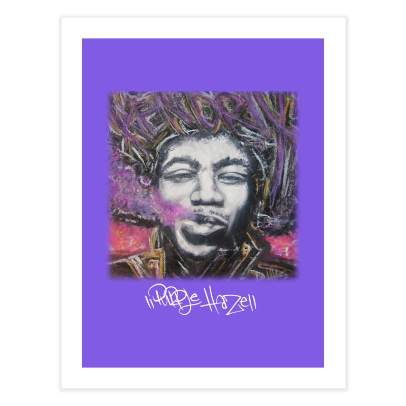 Purple Haze w tag Home Fine Art Print by Brick Alley Studio's Artist Shop