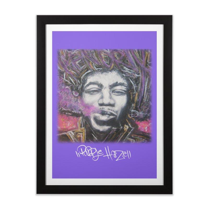 Purple Haze w tag Home Framed Fine Art Print by Brick Alley Studio's Artist Shop