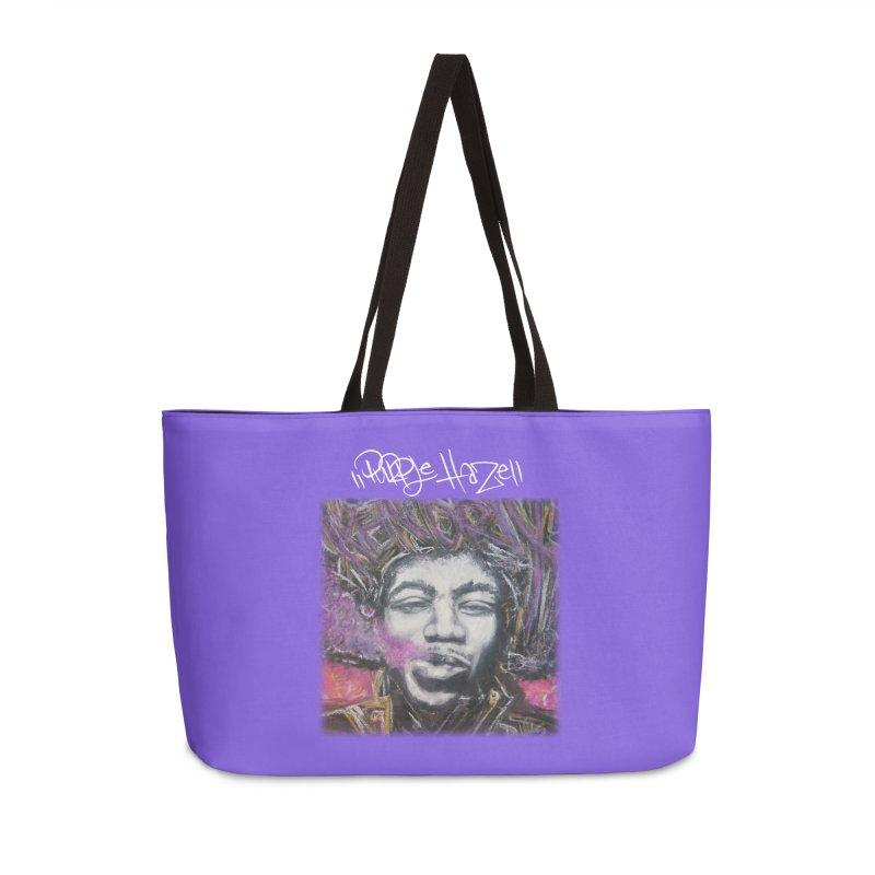 Purple Haze w tag Accessories Weekender Bag Bag by Brick Alley Studio's Artist Shop