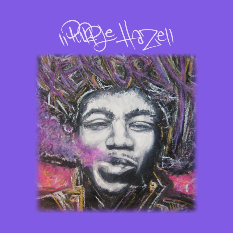 Purple Haze w tag Women's Zip-Up Hoody by Brick Alley Studio's Artist Shop
