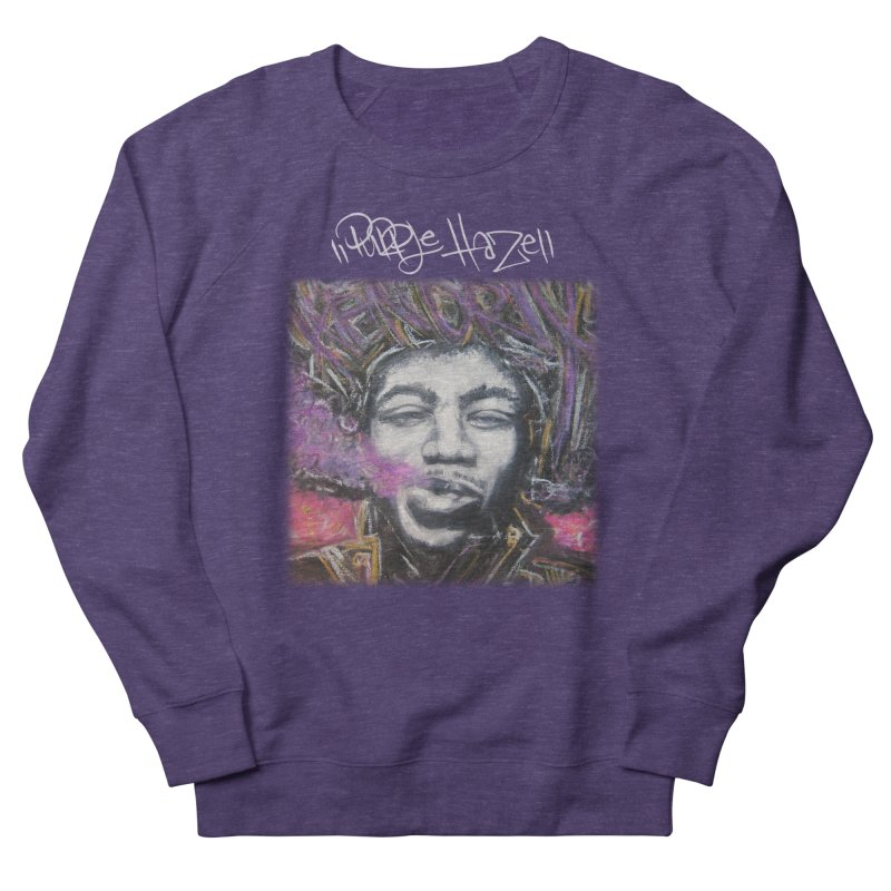 Purple Haze w tag Men's Sweatshirt by Brick Alley Studio's Artist Shop