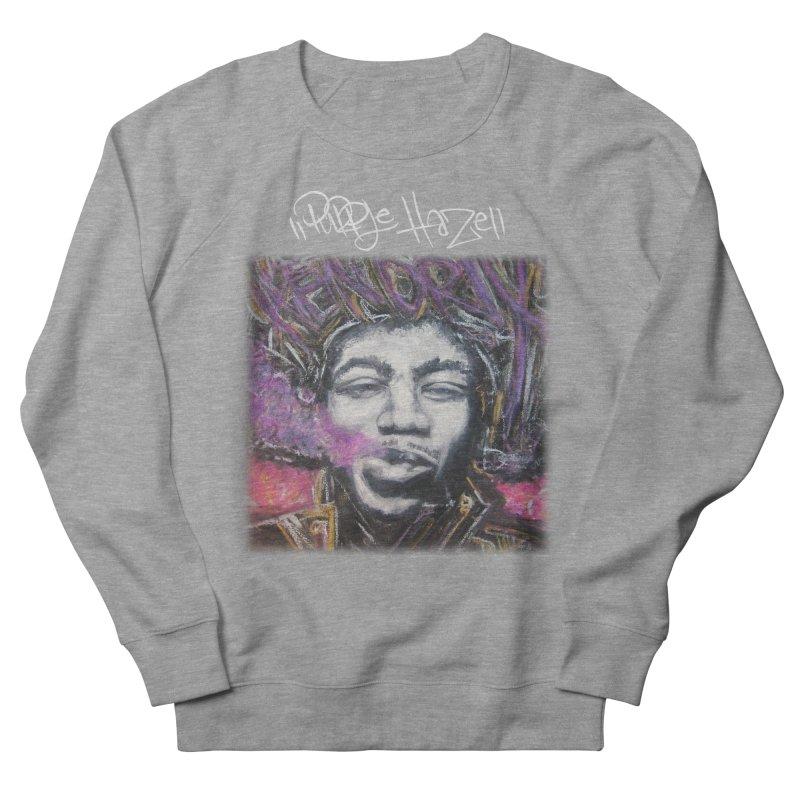 Purple Haze w tag Men's French Terry Sweatshirt by Brick Alley Studio's Artist Shop