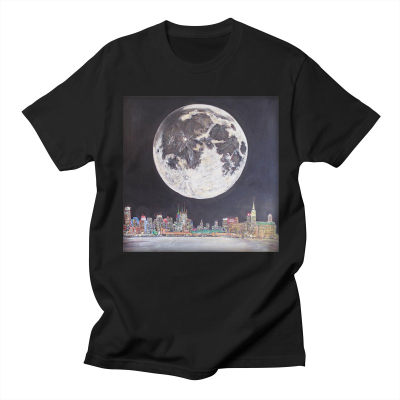 New York City Moon   by Brick Alley Studio's Artist Shop