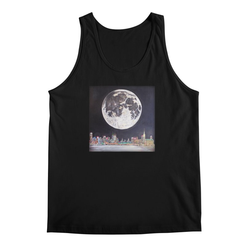 New York City Moon   by Brick Alley Studio's Artist Shop