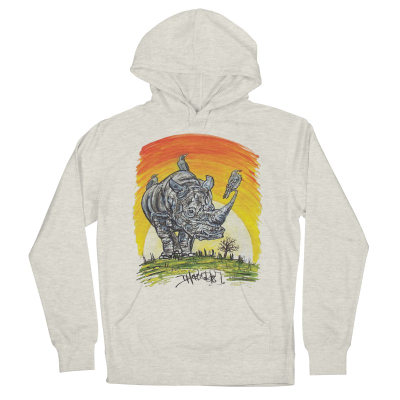 Three Little Birds Men's Pullover Hoody by Brick Alley Studio's Artist Shop