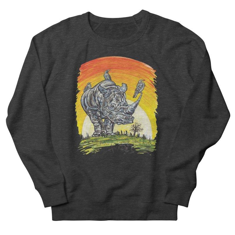 Three Little Birds Women's Sweatshirt by Brick Alley Studio's Artist Shop