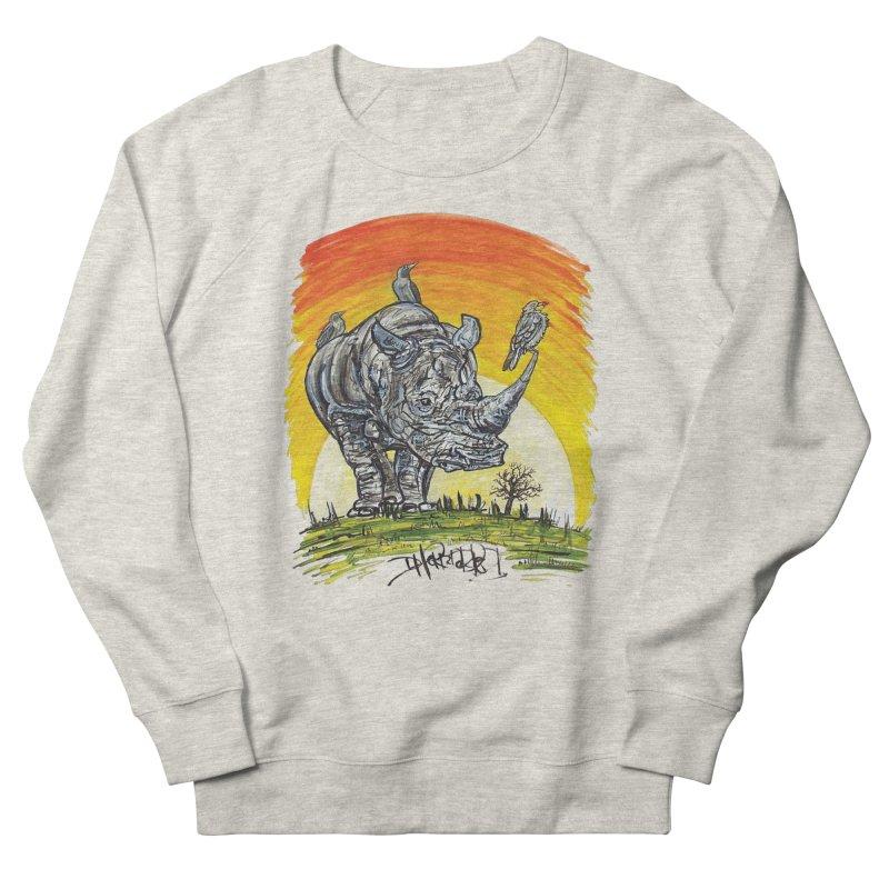 Three Little Birds Men's Sweatshirt by Brick Alley Studio's Artist Shop