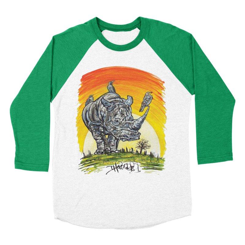 Three Little Birds Men's Longsleeve T-Shirt by Brick Alley Studio's Artist Shop