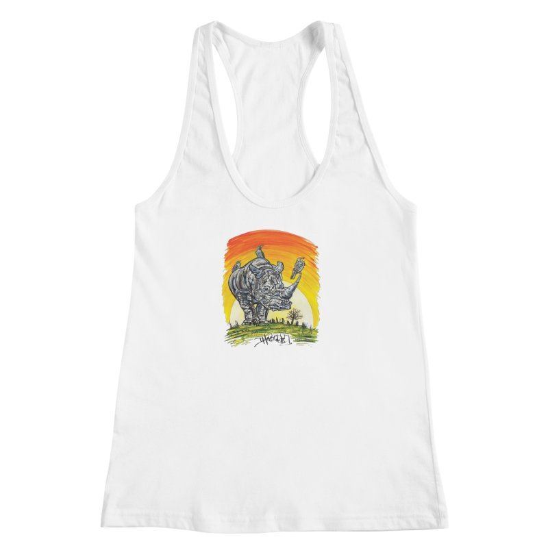 Three Little Birds Women's Tank by Brick Alley Studio's Artist Shop