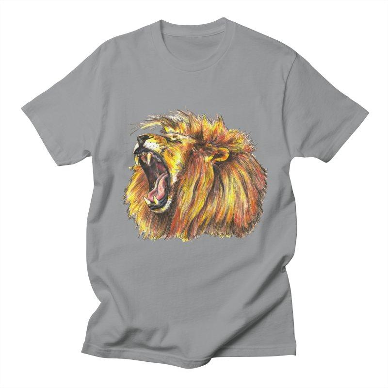 Iron Bars Men's T-Shirt by Brick Alley Studio's Artist Shop