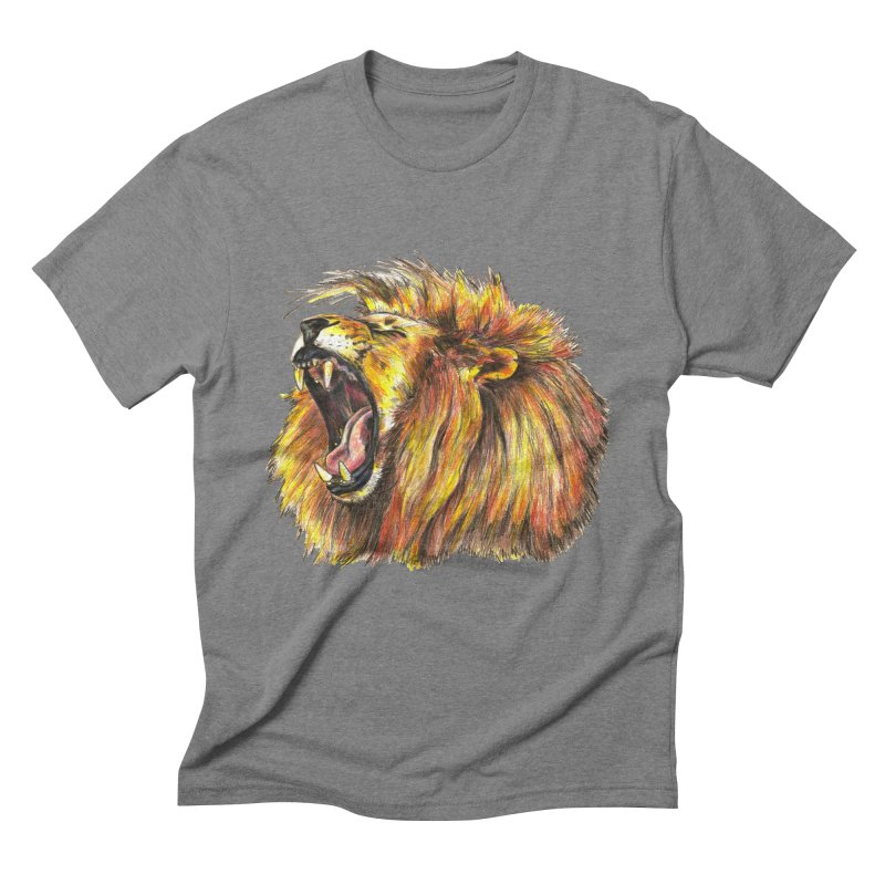 Iron Bars Men's Triblend T-Shirt by Brick Alley Studio's Artist Shop