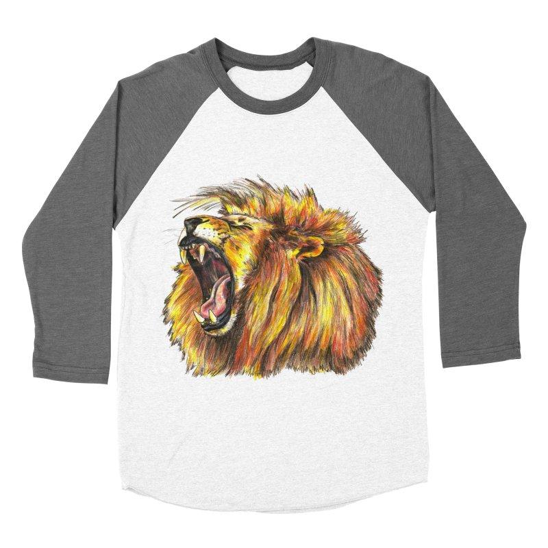 Iron Bars Men's Baseball Triblend T-Shirt by Brick Alley Studio's Artist Shop