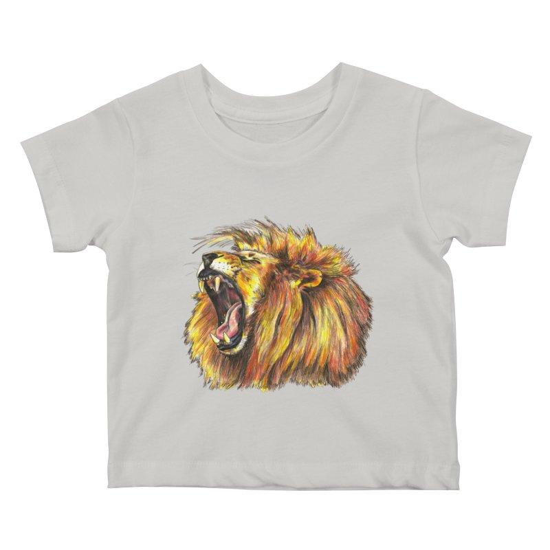 Iron Bars Kids Baby T-Shirt by Brick Alley Studio's Artist Shop