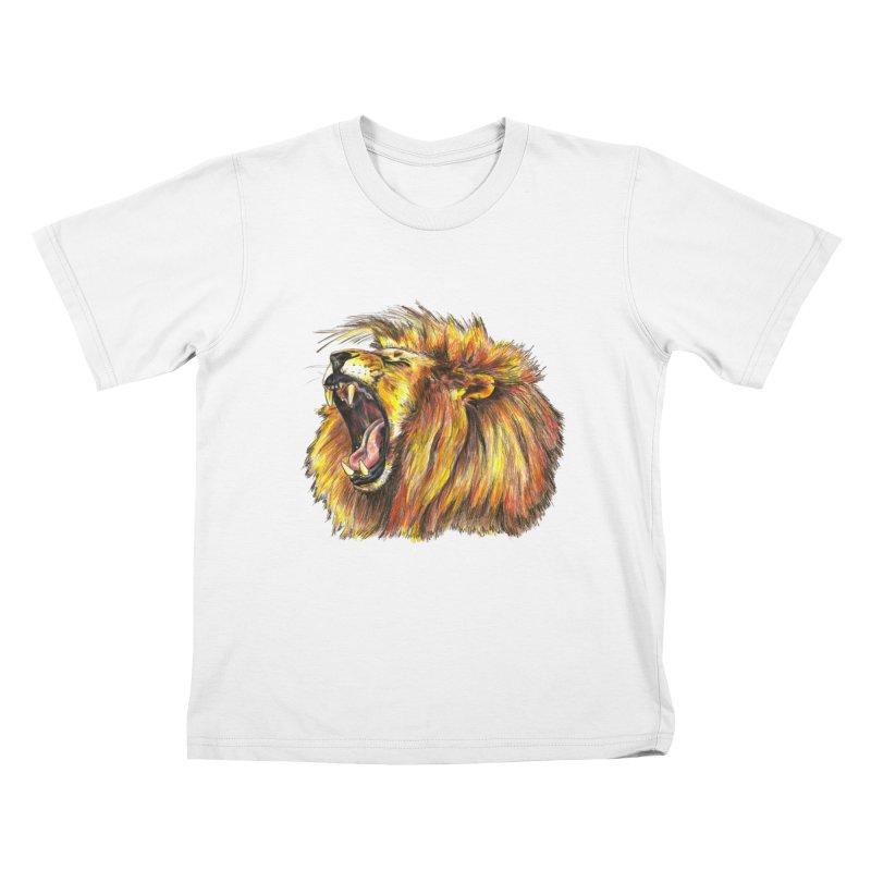 Iron Bars Kids T-Shirt by Brick Alley Studio's Artist Shop