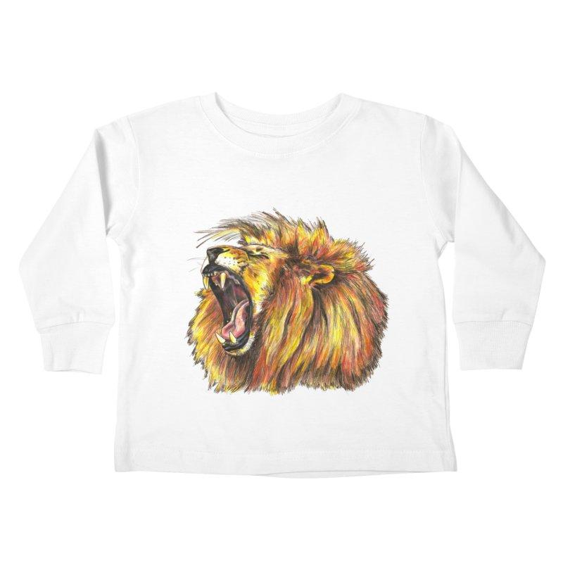 Iron Bars Kids Toddler Longsleeve T-Shirt by Brick Alley Studio's Artist Shop