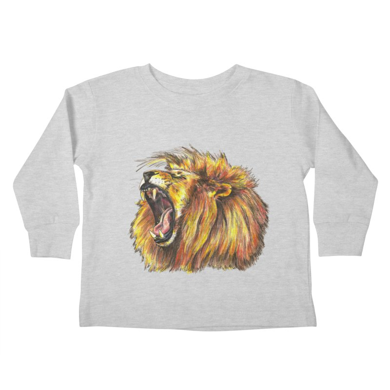 Iron Bars Kids Toddler Longsleeve T-Shirt by Brick Alley Studio's Artist Shop