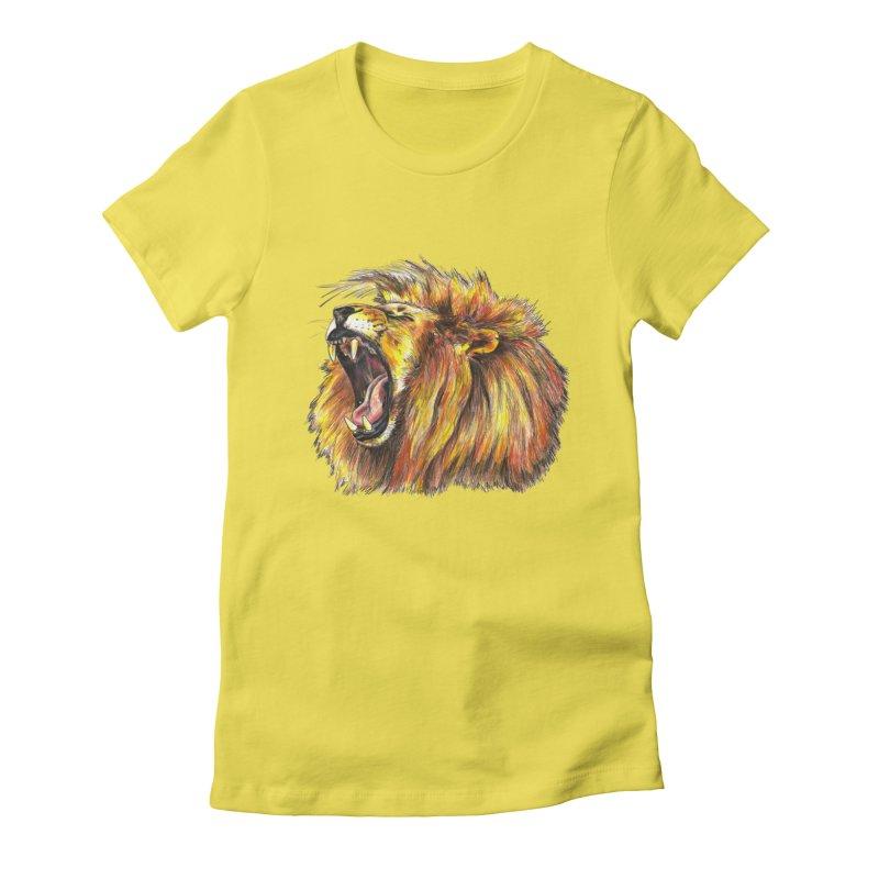 Iron Bars Women's T-Shirt by Brick Alley Studio's Artist Shop