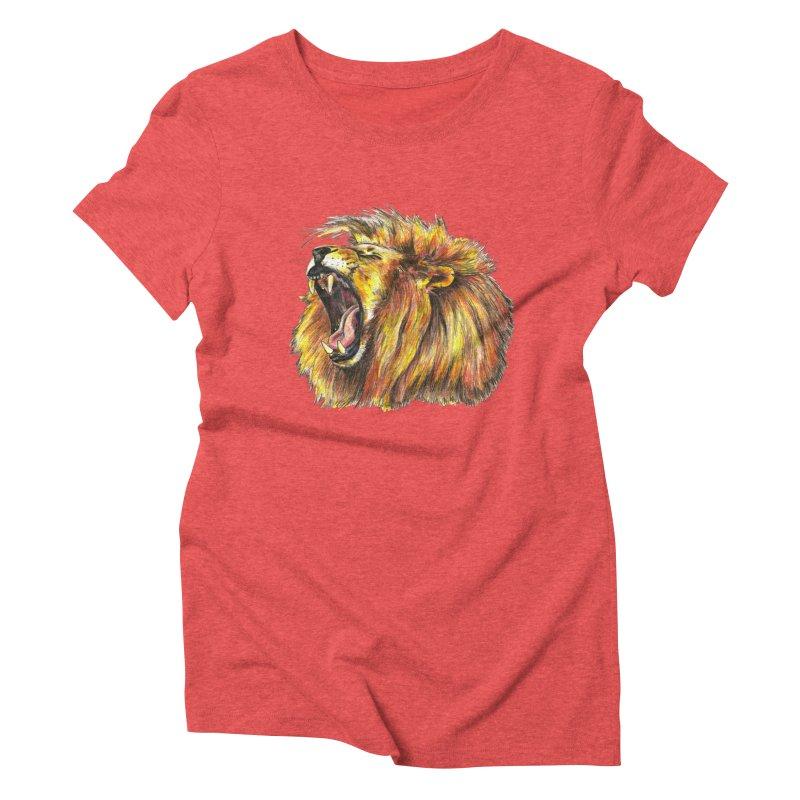 Iron Bars Women's Triblend T-Shirt by Brick Alley Studio's Artist Shop