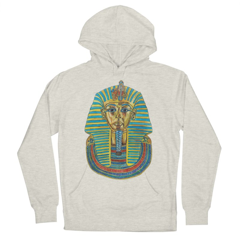 Tut Men's Pullover Hoody by Brick Alley Studio's Artist Shop