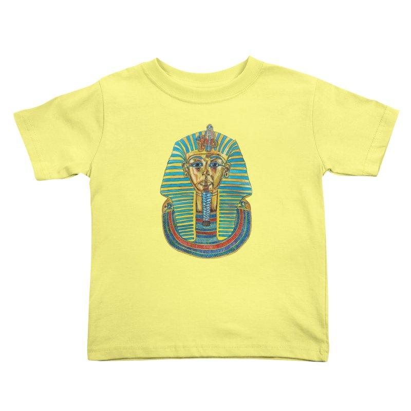 Tut Kids Toddler T-Shirt by Brick Alley Studio's Artist Shop