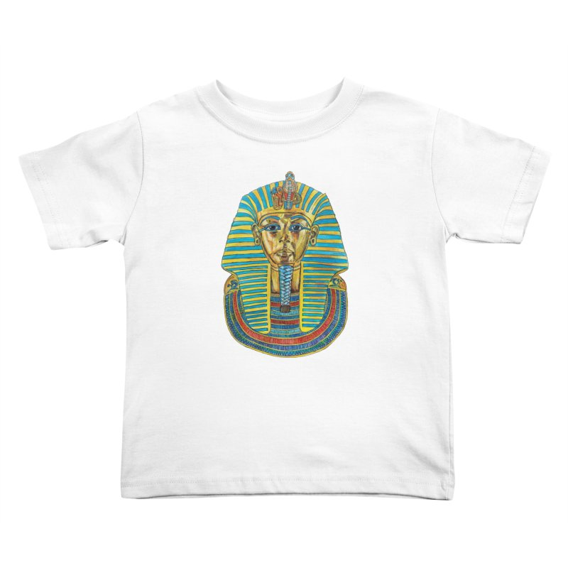 Tut Kids Toddler T-Shirt by Brick Alley Studio's Artist Shop